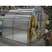Теплица Мария Делюкс 6 х 3 метра из квадратной трубы в комплекте с поликарбонатом 4 мм фотография