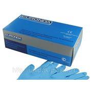 Перчатки Euronda нитриловые текстурир. не опудренные фото