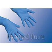 Перчатки смотровые Нитриловые стер. фото