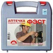 Аптечка ФЭСТ универсальная (пластиковый футляр) Для оказания неотложной медицинской помощи в производственных условиях с числом работающих до 7 фото