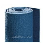 """Коврик для йоги """"Ришикеш"""" (80 х 200 см), синий фото"""