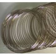 Проволока сталь 65Г диаметр 0,35мм фото
