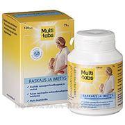 Поливитаминный комплекс MULTI-TABS для беременных и кормящих 120шт. фото