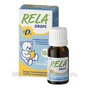 RELA + D молочно-кислые бактерии (в каплях) 10 мл. фото