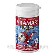 Рыбий жир в капсулах Vitamar Junior Omega 3, 60 капс. фото