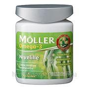 Рыбий жир в капсулах MOLLER Nivelille Flexsystems. 76 капс. для суставов и костей фото