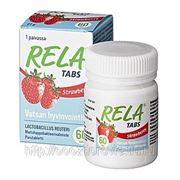 RELA молочно-кислые бактерии с клубничным вкусом 60 табл. фото