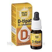Витамин Д3 MULTI-TABS D 10 мкг/мл. капли 10 мл. фото