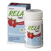 RELA молочно-кислые бактерии с клубничным вкусом 90 табл. фото