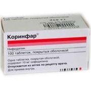 Коринфар таблетки 10мг 100 шт фото