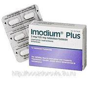 Имодиум плюс 12 табл. IMODIUM PLUS 2/125 MG фото