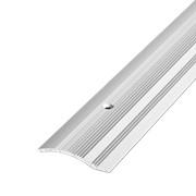 ЛУКА Порог разноуровневый ПР 02-900-01л серебро анодир-е (0,9м) 39,4мм перепад 2,2-10мм фото