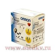 Тест полоски Omron Optium Omega фото