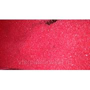 ПНД 277 Вторичный ПНД 277 в дроблёном виде красного цвета фото