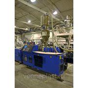 Оказываем услуги грануляции полимеров (ПНД, ПВД,ПП). фото