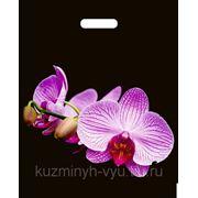 """Пакет ПВД """"Орхидея розовая"""" 38Х47 45мкм фото"""