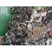 Отходы ПЭТ бутылок фото