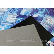 Лист АБС 3 мм 1000х2000 цвет черный, тиснение шагрень фото