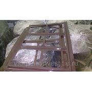 ПЭТ (ПЭТФ) отходы производства - Полиэтилентерефталат. Высечка листовая. фото