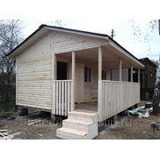 Дачный домик 5х5 фото