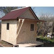 Дачный домик 3х2.5м. фото