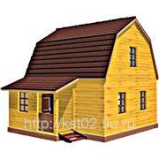 Д14 Дом дачный с установкой на Вашем участке фото