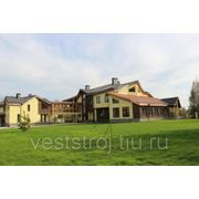 Большой новый дом в элитном поселке Подмосковья фото
