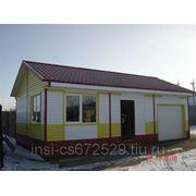 Дом с гаражом (S=54м2.) фото