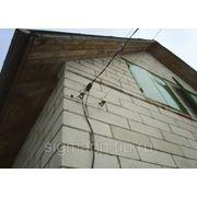 Подключение дома к электросети фото