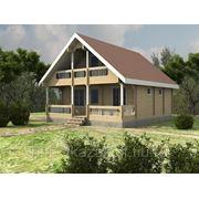 Дом из клееного бруса «Лидия» фото