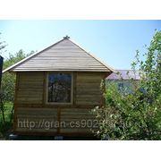 Срубы домов и бань фото