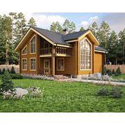 Проект дома из профилированного бруса. фото