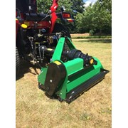 Косилка навесная тракторная травяная с цеповым механизмом модель EF155 фото