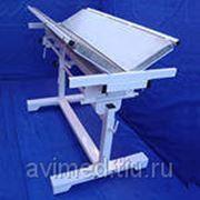"""Ветеринарный стол со столешницей из нержавеющей стали """"Супервет"""" с двумя створками фото"""