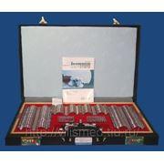 Набор пробных очковых линз, средний (1 оправа, 232 оптических элемента) фото