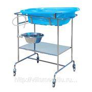 Стол-подставка под ванну, хромоникелиевая нержав.сталь фото