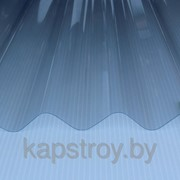 Профилированный лист Salux шифер прозрачный 146/48 1,3*1090*2000мм фото