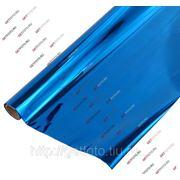 Бумага для упаковки подарков, 70х200 см, METALLIC, синяя GF 2332 фото