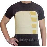 Бандаж послеоперационный на грудную клетку мужской Б-360 фото