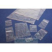 Пакет с замком Zip-lock 100*150 фото