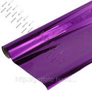 Бумага для упаковки подарков, 70х200 см, METALLIC, фиолетовая GF 2333 фото