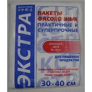 Пакет фасовочный Евро (30х40)-10 (500) Экстра Ромашка /10 фото