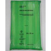 Пакет фасовочный Евро (18+8х35)-9 Моспластик зеленый (500) /10 фото