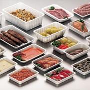 Латок пластиковый пищевой термостойкой посуды фото