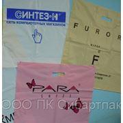 Полиэтиленовые пакеты для швейных изделий фото