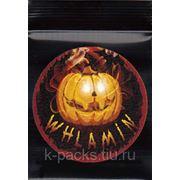Whlamin - грипперы чёрные 3х5 см. с этикетками
