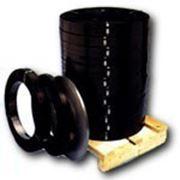 Стальная упаковочная высокопрочная лента19х0,5 с защитным покрытием фото