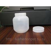 Баночка пластмассовая 400мл. с крышкой в ассортименте. фото