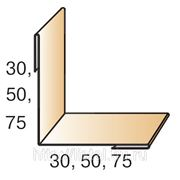Планка угла внутреннего простого 75х75х2500 фото