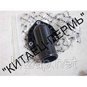 Патрубок термостата отводящий (ISF2.8) Г-обр. металл 5263134 фото